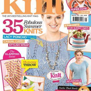 دانلود مجله بافتنی Let's Knit May 2015