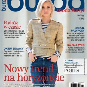 دانلود مجله خیاطی Burda Oct 2014