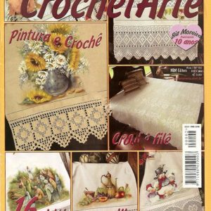 دانلود مجله رومیزی با حاشیه قلاب بافی