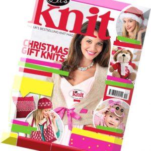 مجله بافتنی Let's Knit  December 2014