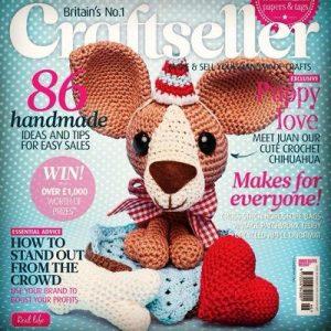 دانلود مجله عروسک های بافتنی Craftseller Feb 2015