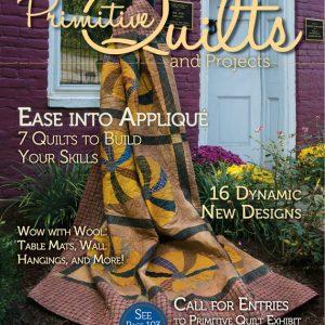 دانلود مجله چهل تکه دوزی Primitive Quilts