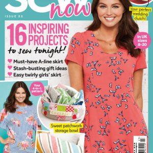 دانلود مجله خیاطی Sew now Issue 23/2018