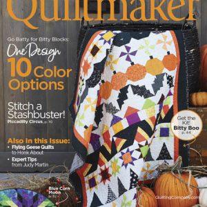 دانلود مجله تکه دوزی Quiltmaker 2018