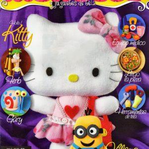 دانلود مجله آموزش عروسک نمدی کیتی و باب اسفنجی با الگو