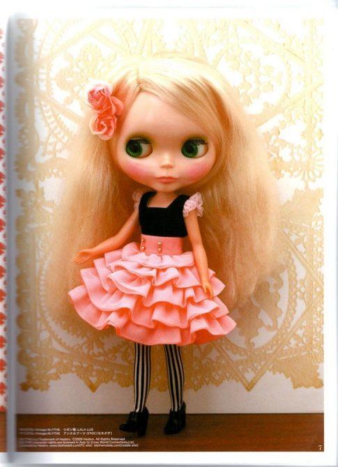 الگو لباس عروسک روسی دختر
